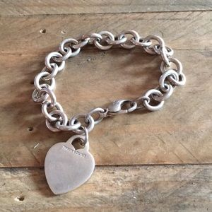Tiffany's heart tag bracelet
